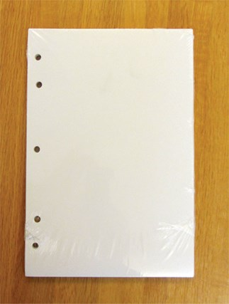 Punched Blank Sheets for Standard Edition of Loose-leaf Lectionary