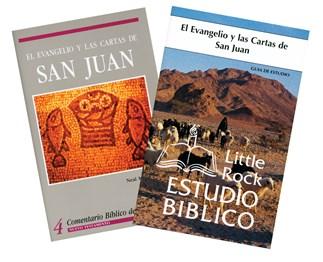 Evangelio y las Cartas según San Juan-Paquete de Estudio