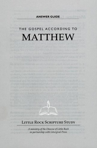The Gospel According to Matthew—Answer Guide
