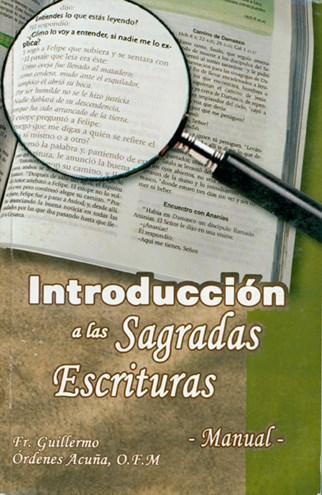 Introducción A Las Sagradas Escrituras • Manual •