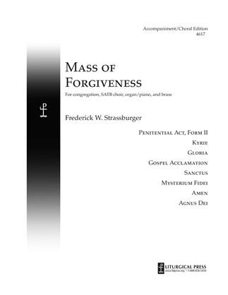 Mass of Forgiveness, Accompaniment/Vocal Score Print Edition