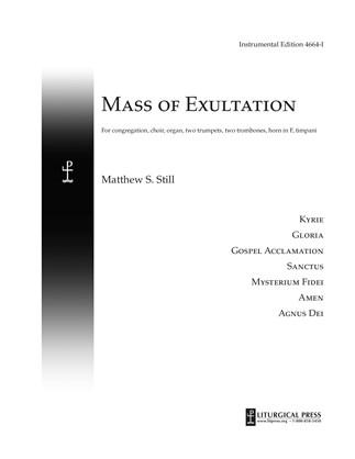 Mass of Exultation, Instrumental eMusic Edition