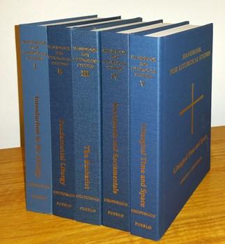 Handbook for Liturgical Studies Set