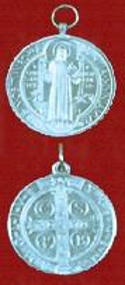 St. Benedict Aluminum Jubilee Medal