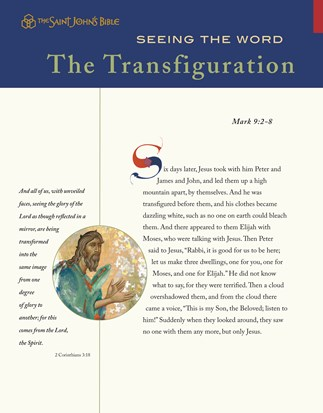 Seeing the Word: The Transfiguration