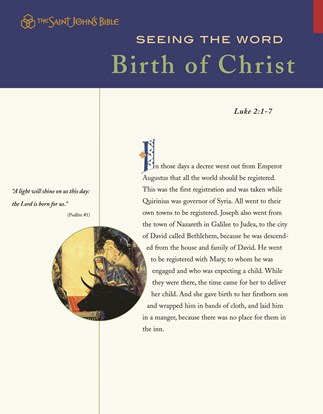 Seeing The Word: Birth Of Christ