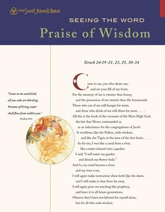Seeing the Word: Praise of Wisdom
