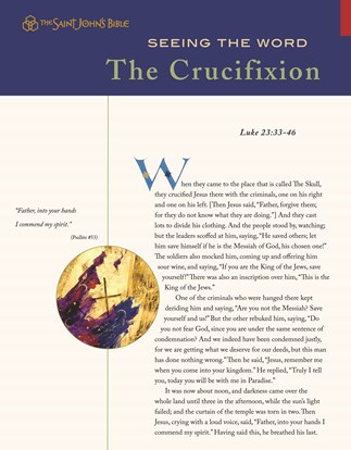 Seeing the Word: The Crucifixion