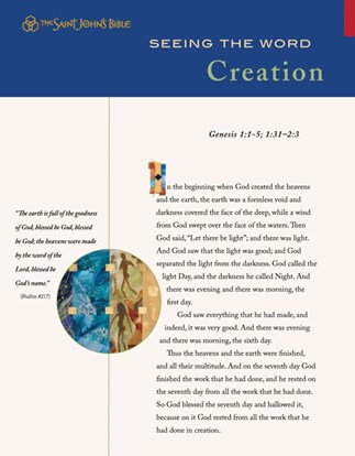 Seeing the Word: Creation