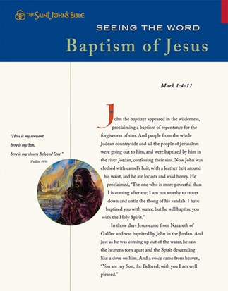 Seeing the Word: Baptism of Jesus
