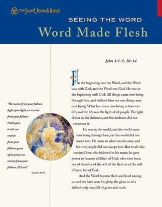Seeing the Word: Word Made Flesh