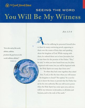 Seeing the Word: You Will Be My Witness